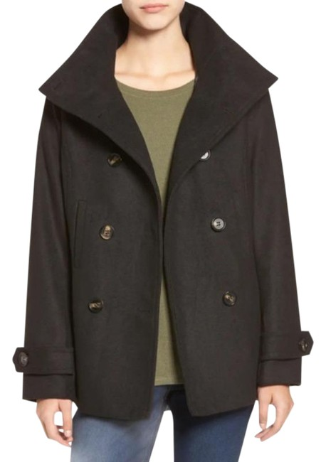 Item - Green & Supply Double Breasted Wool Blend Coat Size 6 (S)