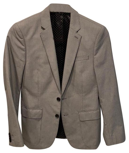 Item - Grey Men's Photographer Fitted 36s Blazer Size 4 (S)