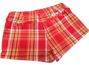 Abercrombie & Fitch Mini/Short Shorts Red Orange Yellow White