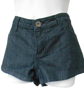 City Streets Dark Wash Summer New Mini/Short Shorts Dark Denim