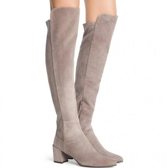 Item - Gray Suede Allwayhunk Boots/Booties Size US 5.5 Narrow (Aa, N)