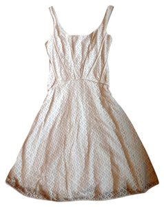 Max Studio short dress White Short Short on Tradesy
