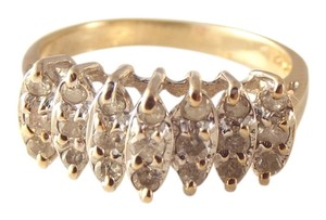 jojo's jewels .60 ct Diamond wedding/right hand ring 10k