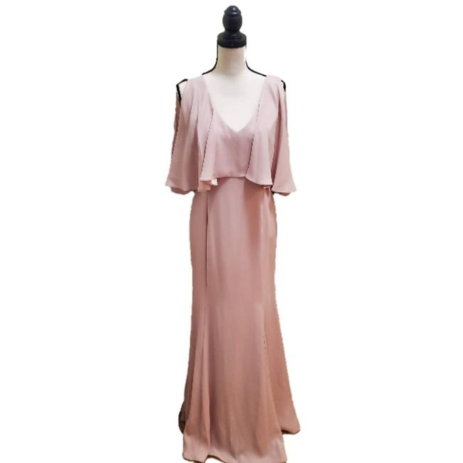 Item - Pink Popover Gown Formal Dress Size 8 (M)