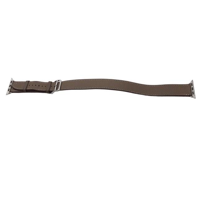 Item - Taupe Apple Watch Leather Band Tech Accessory