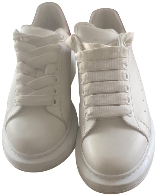 Item - White/Red Oversized Sneakers Size US 7 Regular (M, B)