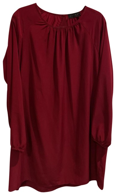 Item - Wine Red Shift Maternity Dress Size OS (one size)