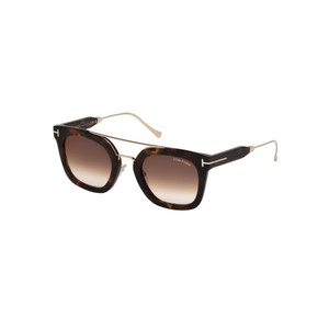 Tom Ford Brown Mirrored Lens FT0541/S 55U 51 Squared Unisex