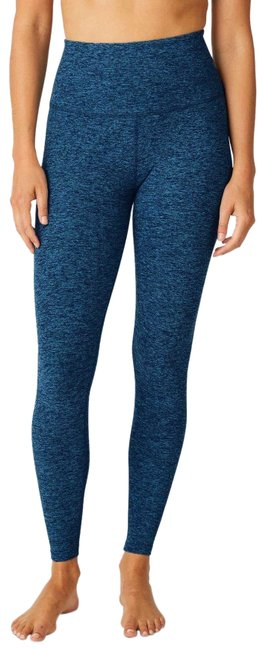 Item - Blue Spacedye Caught In The Midi High Waisted Activewear Bottoms Size 2 (XS, 26)