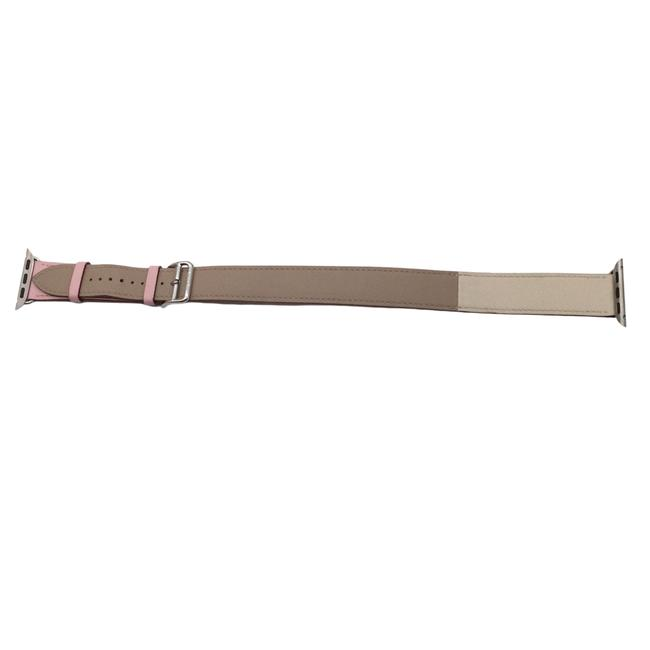 Item - Tan & Pink Swift Apple Watch Double Tour Band Tech Accessory