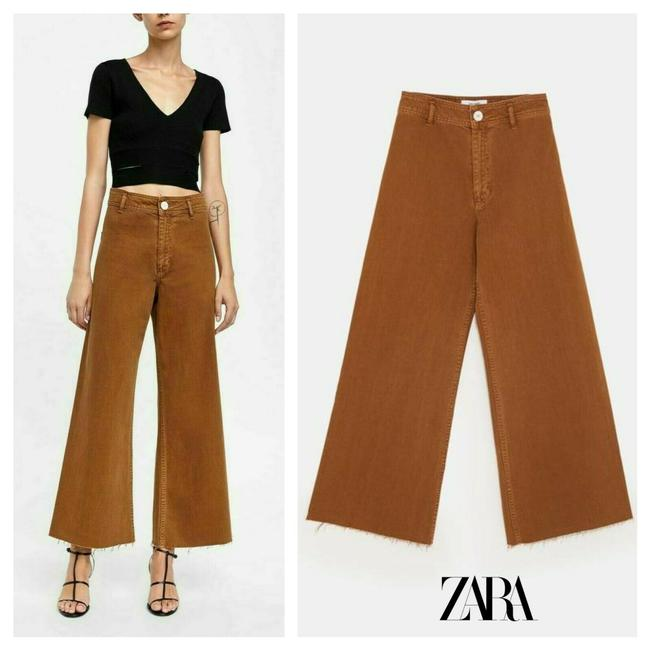 Item - Brown Medium Wash Marine Straight High Waisted Capri/Cropped Jeans Size 27 (4, S)