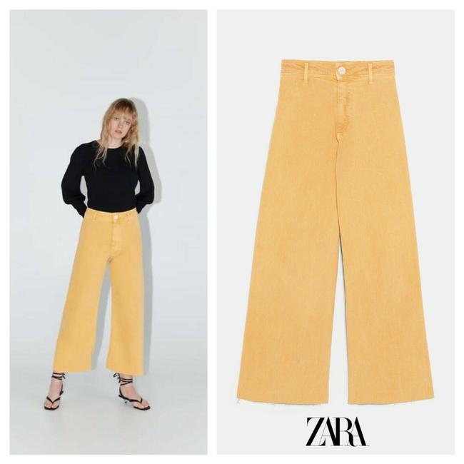 Item - Yellow Us 6 Marine High Waisted Capri/Cropped Jeans Size 28 (4, S)
