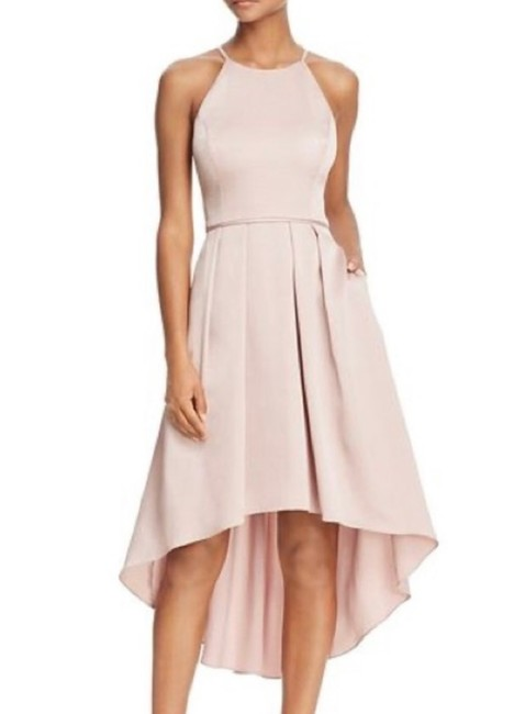 Item - Dusty Rose Highlow Mid-length Cocktail Dress Size 0 (XS)