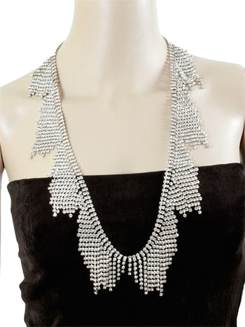 Kate Spade 12k Gold Plate & Cascading Crystals Twist Exquisitely Designed Shout with Tags - Perfect For A Fabulous Night Out Necklace Kate Spade 12k Gold Plate & Cascading Crystals Twist Exquisitely Designed Shout with Tags - Perfect For A Fabulous Night Out Necklace Image 1