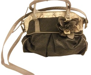 Claire's Claires Faux Snake Skin Shoulder Bag