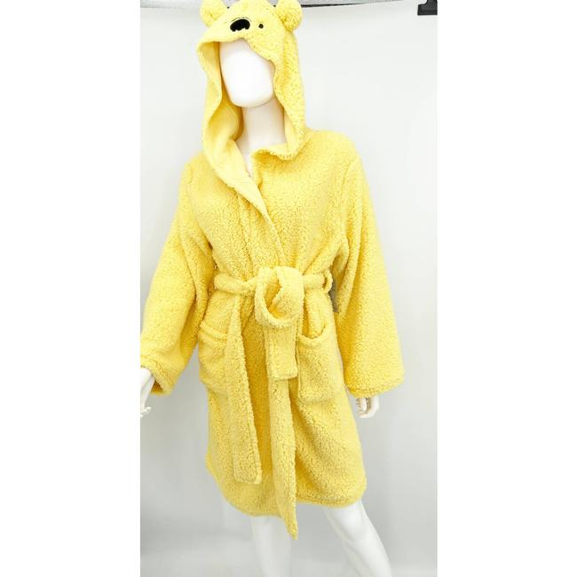 Item - L Adult Whinnie The Pooh Yellow Sheba Robe Sweatshirt/Hoodie Size 14 (L)