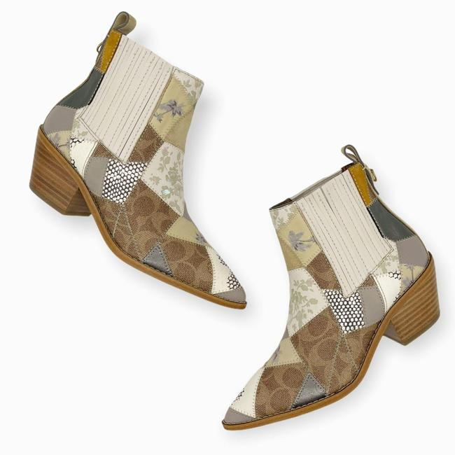 Item - Tan Brown Womens Neutrals Patchwork Melody Boots/Booties Size US 5 Regular (M, B)