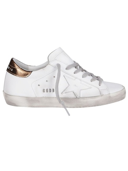 Item - White Superstar Lace-up Sneakers Size EU 40 (Approx. US 10) Regular (M, B)