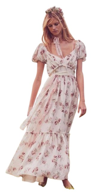 Item - Cream White Angie In Mid-length Casual Maxi Dress Size 10 (M)
