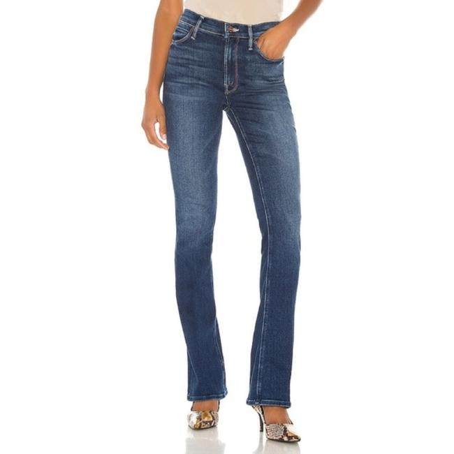 Item - Blue Dark Rinse High Waisted Runaway In Sweet and Sassy Boot Cut Jeans Size 32 (8, M)