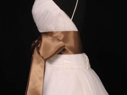 Sable Brown Ribbon Sash