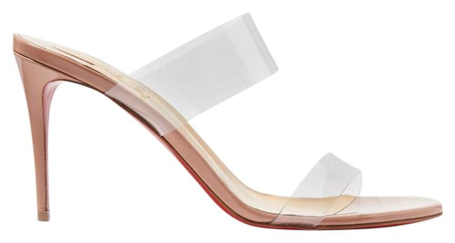 Item - Just Nothing 85 Pvc and Patent-leather Mules Sandals Size EU 36.5 (Approx. US 6.5) Regular (M, B)