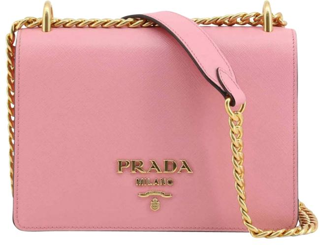 Item - New Chain Purse Pink Leather Cross Body Bag