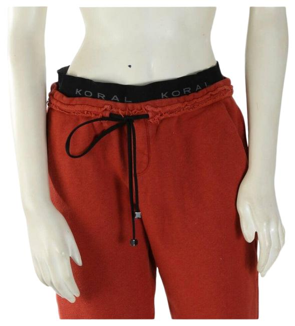 Item - Red XS Brick Cotton Jogger Track Activewear Bottoms Size 2 (XS, 26)