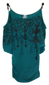 Cut-out Beaded Tunic