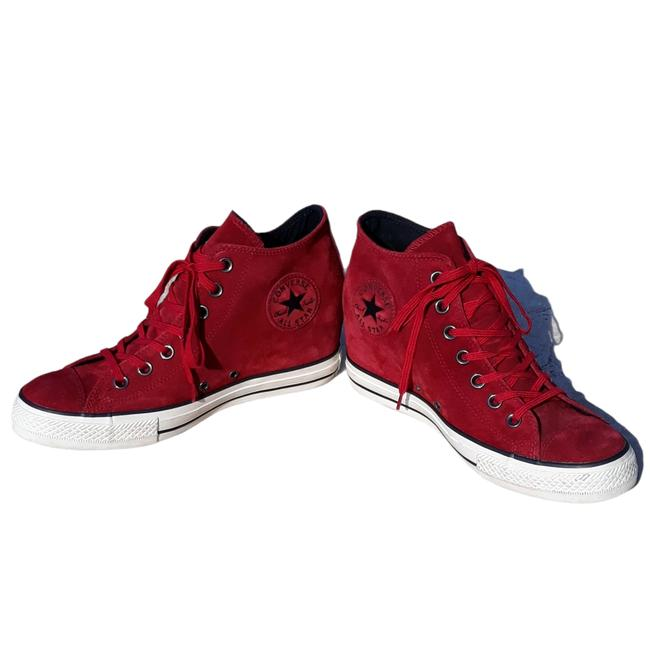 Item - Red 550671c Chuck Taylor Dahlia Lux Suede Sneakers Size US 10 Regular (M, B)