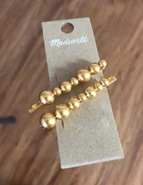 Madewell Gold Set Dots Hairpins Hair Accessory Madewell Gold Set Dots Hairpins Hair Accessory Image 2