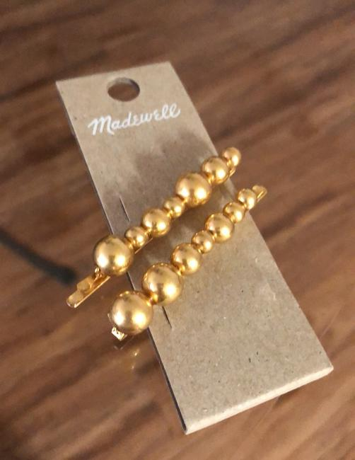 Madewell Gold Set Dots Hairpins Hair Accessory Madewell Gold Set Dots Hairpins Hair Accessory Image 3