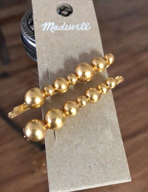 Madewell Gold Set Dots Hairpins Hair Accessory Madewell Gold Set Dots Hairpins Hair Accessory Image 4