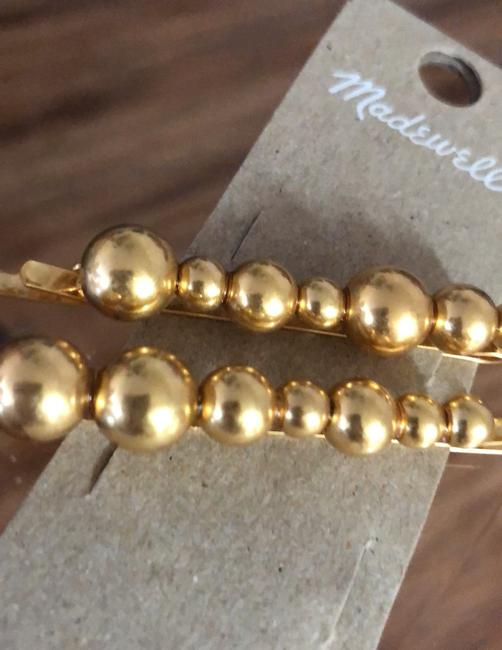 Madewell Gold Set Dots Hairpins Hair Accessory Madewell Gold Set Dots Hairpins Hair Accessory Image 5