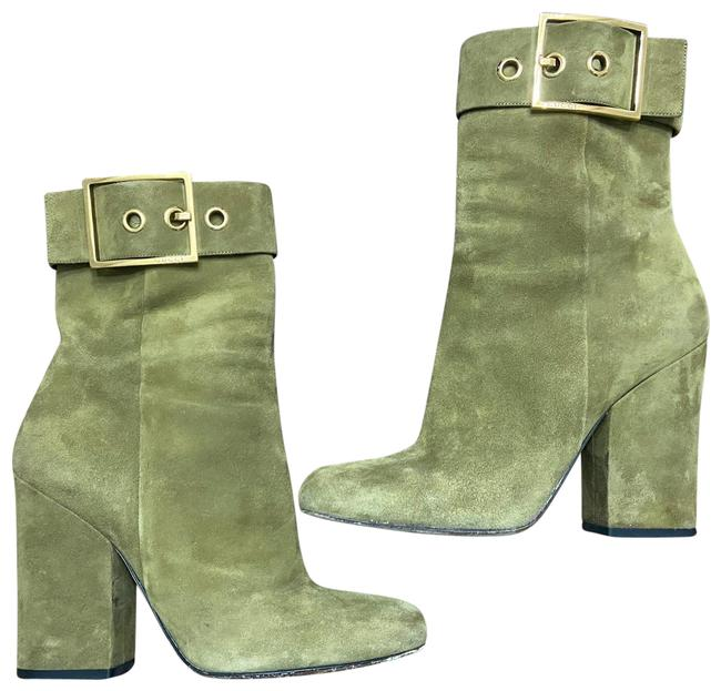 Item - Olive Green & Gold 323513 Boots/Booties Size US 9 Regular (M, B)