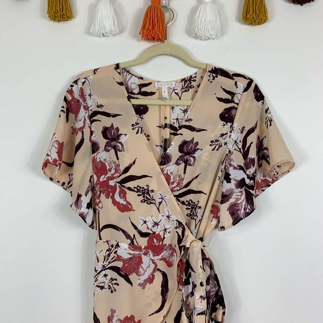 Leith Cream Hi Lo Flutter Sleeve Floral M Tunic Size 10 (M) Leith Cream Hi Lo Flutter Sleeve Floral M Tunic Size 10 (M) Image 4