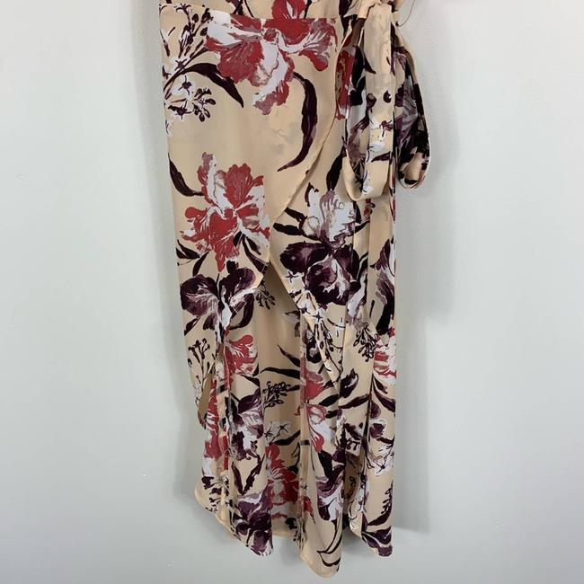 Leith Cream Hi Lo Flutter Sleeve Floral M Tunic Size 10 (M) Leith Cream Hi Lo Flutter Sleeve Floral M Tunic Size 10 (M) Image 5