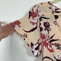 Leith Cream Hi Lo Flutter Sleeve Floral M Tunic Size 10 (M) Leith Cream Hi Lo Flutter Sleeve Floral M Tunic Size 10 (M) Image 6