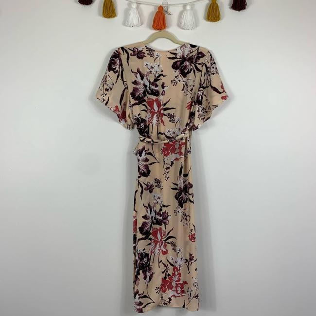 Leith Cream Hi Lo Flutter Sleeve Floral M Tunic Size 10 (M) Leith Cream Hi Lo Flutter Sleeve Floral M Tunic Size 10 (M) Image 8