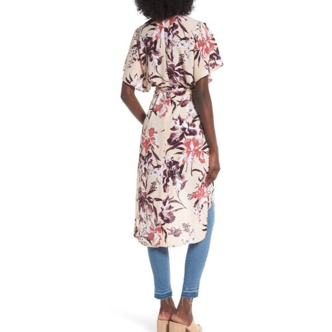 Leith Cream Hi Lo Flutter Sleeve Floral M Tunic Size 10 (M) Leith Cream Hi Lo Flutter Sleeve Floral M Tunic Size 10 (M) Image 9