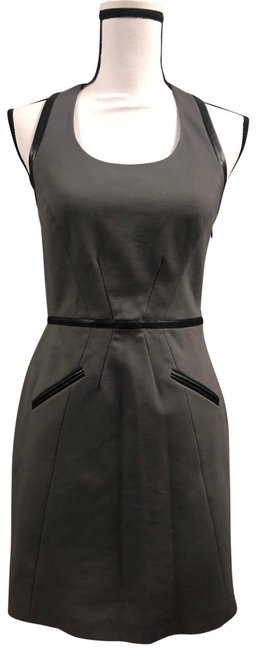 Item - Grey Short Night Out Dress Size 4 (S)