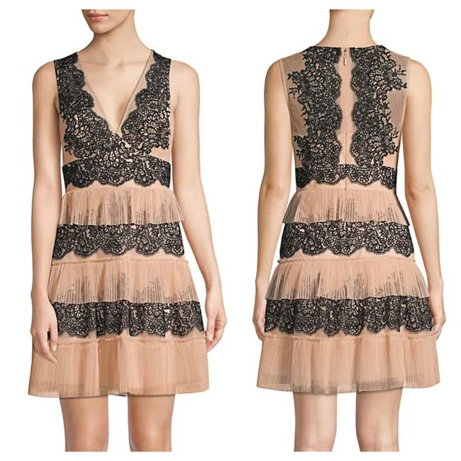 Item - Blush Pink Tiered Lace Nwot Short Cocktail Dress Size 4 (S)