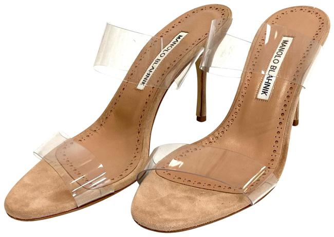 Item - Pink Scolto Clear Pvc Slip-on Formal Shoes Size EU 36.5 (Approx. US 6.5) Regular (M, B)
