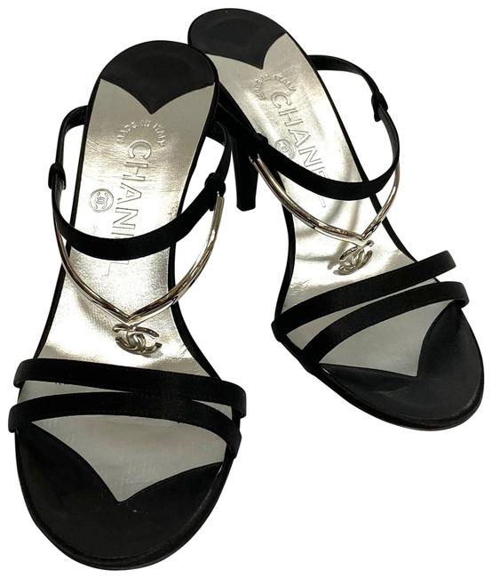 Item - Black Coco Mark High Heel Mule Formal Shoes Size EU 37 (Approx. US 7) Wide (C, D)