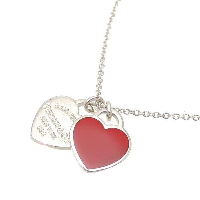 Item - Silver Sv925 Return To Double Heart Ladies 925 Necklace