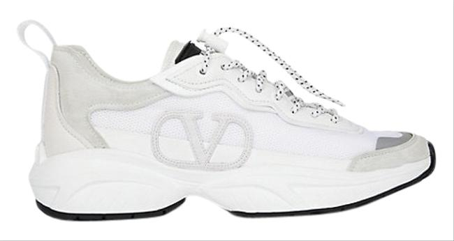 Item - White Shegoes Leather Sneakers Size EU 36.5 (Approx. US 6.5) Regular (M, B)