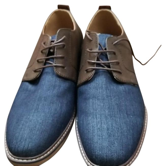 Item - Blue Brown Oxfords Boots/Booties Size US 13 Regular (M, B)
