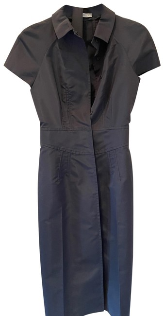 Item - Charcoal Gray No Number Mid-length Work/Office Dress Size 2 (XS)