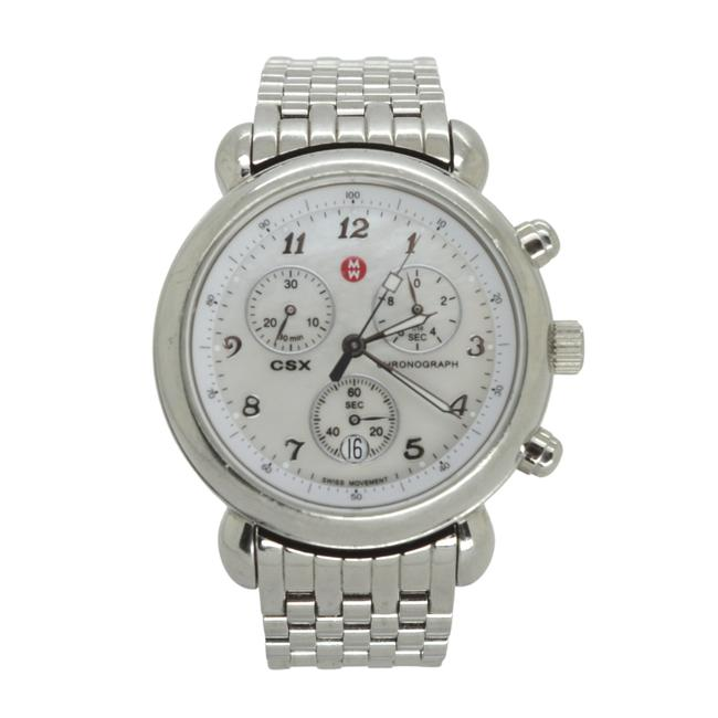 Item - Silver Csx Chronograph Mother Of Pearl Face 36mm Mw03c00 Watch