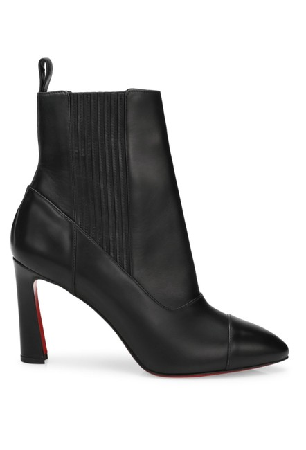 Item - Black Me In The 90s Leather Ankle Boots/Booties Size EU 36.5 (Approx. US 6.5) Regular (M, B)